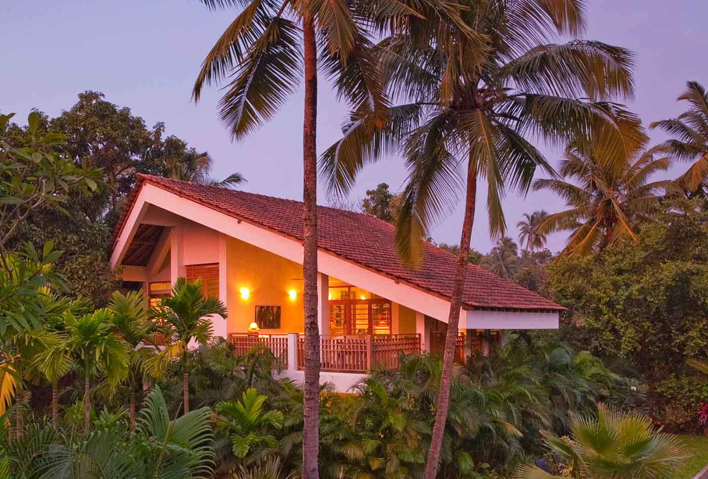 Luxury Villas in Coco Shambhala endow utmost luxury with great style.