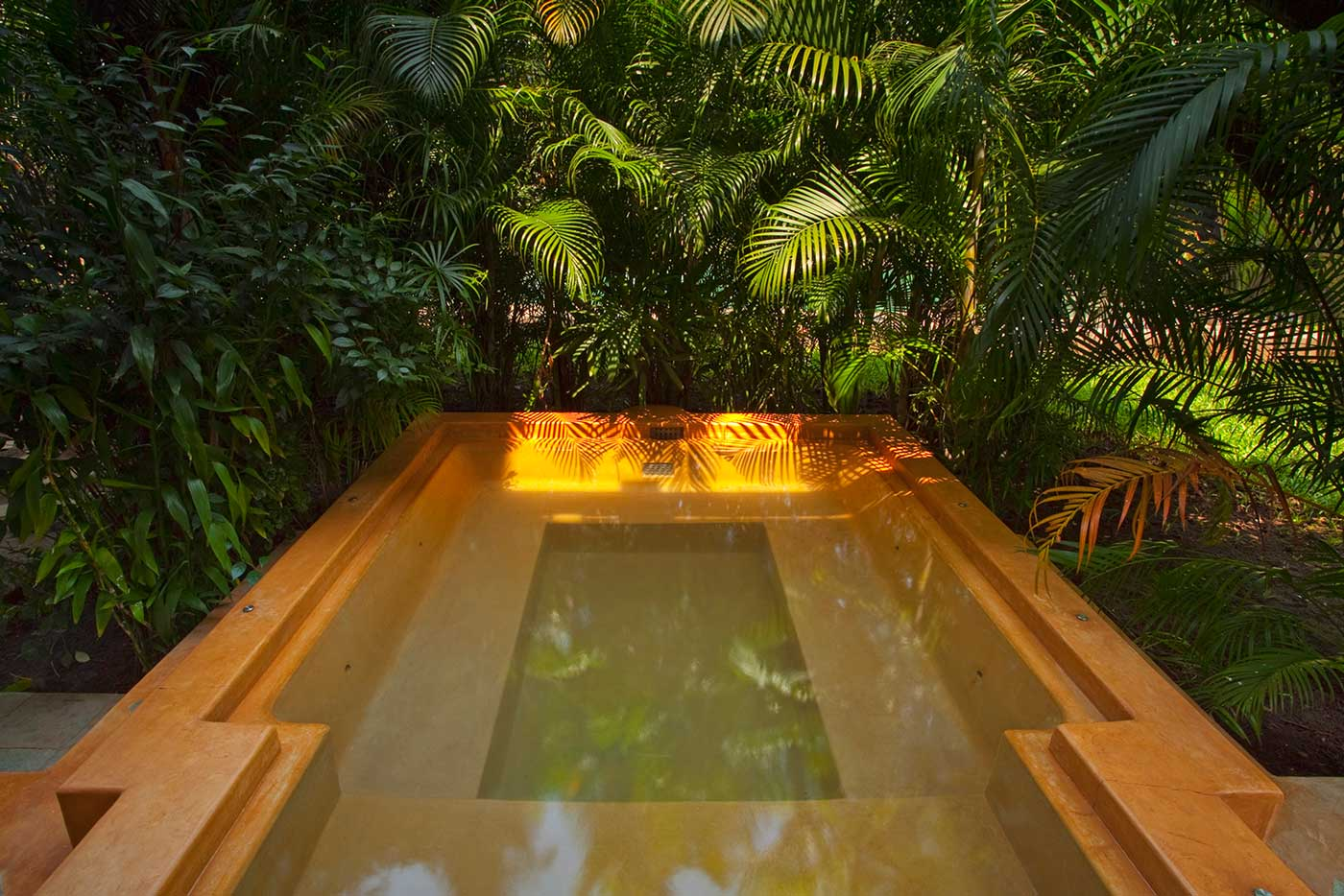 The luxury villa - Rohini, at Coco Shambhala comes with a private plunge jet pool!