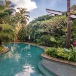 A private jet pool in the midst of Cocoshambhala tropical garden - Luxury Villa Rohini