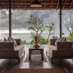 Open air living pavilions: The boundary separating the internal and external environment diminishes when one arrives in the open air living pavilions of Luxury Villa Hotel at Coco Shambhala Sindhudurg