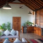 Luxury Villa Hotel Arka at Coco Shambhala Sindhudurg signifies the splendour of the sun and embraces the natural light and settings in its open living pavilion the most.