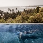 Feel one with the sky and the sea while afloat in your own private infinity pool at Luxury Villa Hotel Inaya, Sindhudurg